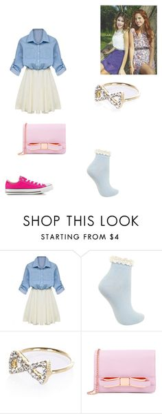 """violetta"" by maria-look ❤ liked on Polyvore featuring Miss Selfridge, River Island, Ted Baker, Converse, women's clothing, women, female, woman, misses and juniors"