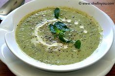 Zucchini Soup Recipe | Cream of Zucchini Soup | Zucchini Recipes