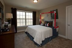 Juniper Floorplan: Bedroom #3 features beautiful windows and great lighting  Royal Oaks Homes  www.royaloakshomes.com