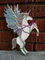 Flying rainbow unicorn pegasus (unf) by Yuikioa