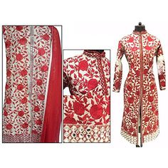 Khazanakart fashion white and red cotton embroidered part... http://www.amazon.in/dp/B01GCUNLXE/ref=cm_sw_r_pi_dp_-6Otxb172NFB4