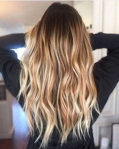 Mein Wunsch Balayage - New Sites Brown Blonde Hair, Dye My Hair, Hair Day, Balayage Hair, Hair Looks, Hair Lengths, Hair Trends, Her Hair, Hair Inspiration