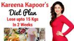 Parineeti Chopra Diet Plan for Weight Loss in Hindi | How to Lose Weight Fast 10kgs | Celebrity Diet