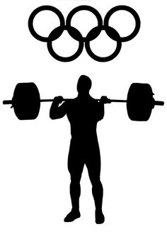 Olimpiada, Podnoszenie Ciężarów, Odważniki, Sport, Waga