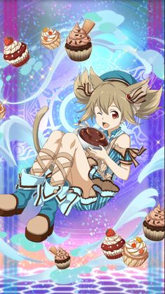 [Lovely Chocolatier] Silica She's a cute little cupcake