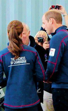 Sweet Moment - Duke and Duchess of Cambridge Princess Katherine, Princess Kate, Princess Charlotte, George Of Cambridge, Duchess Of Cambridge, Prince William And Catherine, William Kate, Duchess Kate, Duke And Duchess