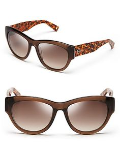 Dior Flanelle Cateye Sunglasses   Bloomingdale's