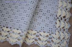 Crochet Blanket Patterns, Baby Knitting Patterns, Crochet Motif, Baby Patterns, Bernat Baby Blanket, Baby Blanket Crochet, Crochet Baby, Knit Crochet, Handmade Baby Blankets