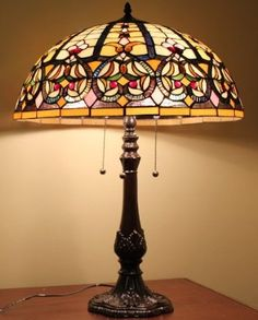 stained glass lamp - Google Search