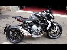 MV Agusta Dragster 800 Start up and Sound - YouTube