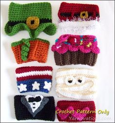 (4) Name: 'Crocheting : Coffee Cup Cozy And Mug Cozy Collection