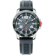 Buy Tommy Hilfiger Silicone Mens Watch 1790849 new - Tommy Hilfiger Silicone Mens Watch 1790849 Material: Rubber Movement: Quartz Color: Black Shape: Round Display: Analog Date: Date Band Length: 7.5 Band Width:...