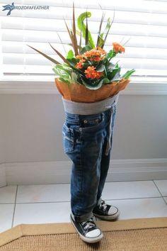 blue jean planter, gardening