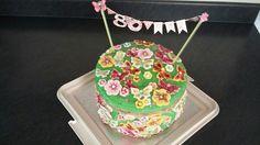 Mum's 80 th birthday cake