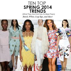 ten top spring 2014 trends pastel crop top white fashion bomb daily