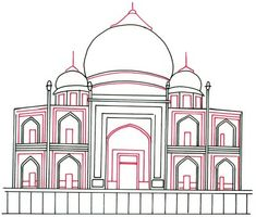arches how to draw the taj mahal howstuffworks