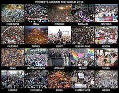 protests around the world - Google Search