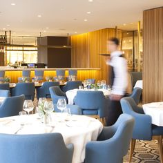 Brown Thomas Restaurant, Dublin,  Chairs and stools by Republic of Living
