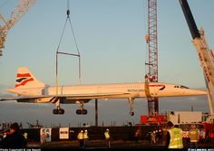 Aerospatiale-BAC Concorde left JFK