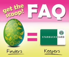 Finders, Keepers: Easter Egg Hunt FAQ