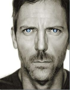 hyperrealism inspiration | art #graphite drawing #hyperrealism #hugh laurie