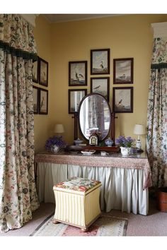 Main Bedroom Vanity   Classical Proportions And Traditional Furnishings  Combine Making This Cornish Family Home The Ideal Acquisition   Real Homes  On HOUSE ...