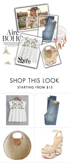 """""""Sin título #2249"""" by miushka ❤ liked on Polyvore featuring Vanessa Mooney, Citizens of Humanity and Charlotte Olympia"""