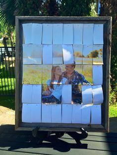 Tirón el libro de visitas de la boda de imagen por Guestbookery