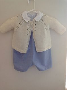 I like the whole outfit - Ravelry: Xtiand's Cardigan for baby