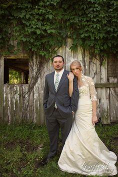 wedding dress with sleeves - bolero