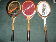 Top wooden rackets!