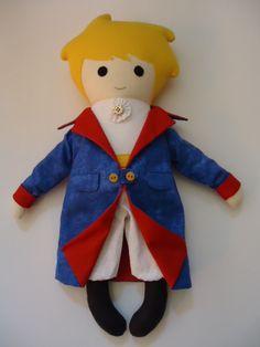 Pequeno Príncipe - Fabric Rag Doll