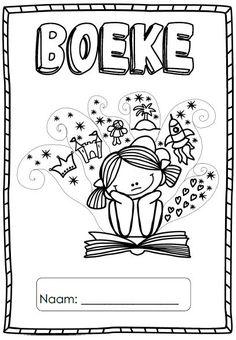 Toddler Learning Activities, Educational Activities, Grade R Worksheets, Borders And Frames, Afrikaans, Kids Education, School Stuff, Make It Simple, Homeschool