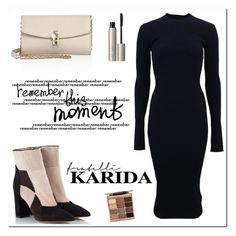 """""""Karida 2"""" by sabinakopic ❤ liked on Polyvore featuring Fratelli Karida, Victoria Beckham, Dolce&Gabbana, Stila, Ilia and FratelliKarida"""