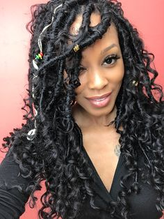 37 Best Goddess Braids With Weave Pictures And Tips, braids hairstyles braid styles faux locs 37 Best Goddess Braids With Weave Pictures And Tips, braids hairstyles Afro Hair Style, Curly Hair Styles, Summer Hairstyles, Girl Hairstyles, Goddess Hairstyles, Hairstyles Pictures, Natural Hair Tips, Natural Hair Styles, American Women