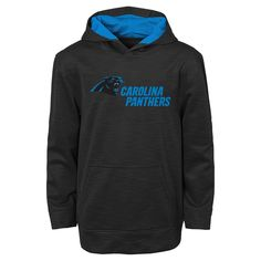 Activewear Sweatshirt NFL Carolina Panthers Team Color XS, Boy's, Multicolored