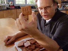 Graham Crackers recipe from Alton Brown via Food Network