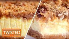 Apple Crumble Cheesecake | Twisted Food - YouTube