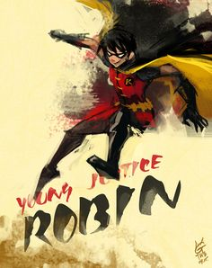Young Justice-Robin by ~agathexu on deviantART