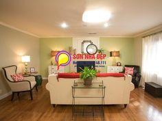 SƠN NHÀ TẠI HÀ NỘI Phòng khách sơn màu xanh lá cây có đẹp không? Check more at http://sonnha.dep.asia/phong-khach-son-mau-xanh-la-cay/