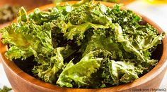 Kale Chips       6 cups of torn and de-stemmed curly kale     2 tsp. coconut oil, grass fed organic butter or ghee     ¼ tsp. Himalayan salt     1-2 tsp. nutritional yeast, or to taste     Optional: 1 pinch sweet or smoked paprika