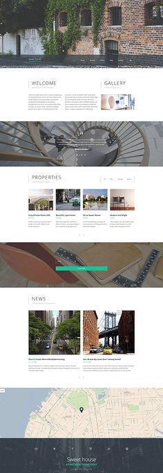 Boutique Real Estate #website #template. #themes #business #responsive #websitethemes