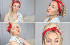 14 olika sätt att bära en bandana