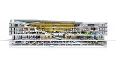 Mlk Library, Library Design, Design Competitions, Train Station, Chandigarh, How To Plan, Architecture, Concept, Inspiration