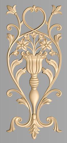 undefined Wood Carving Designs, Wood Carving Patterns, Motif Design, Design Elements, Door Design, Wall Design, Glass Top End Tables, Paisley Art, Baroque Pattern