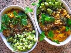Risotto de sarrasin au romarin, courge butternut et chou romanesco - Green me up #vegan