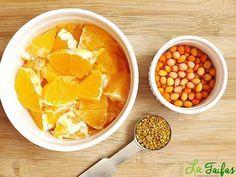 Suc de Cătină, Portocală și Polen Pentru Imunitate Nutribullet, Smoothie Bowl, Milkshake, Cantaloupe, Natural Remedies, Healthy Life, Deserts, Healthy Recipes, Drinks