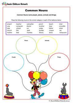Common Nouns English Worksheet