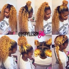 sew in styles before and after - Google Search