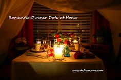 how to plan the ultimate romantic valentine s dinner date at home